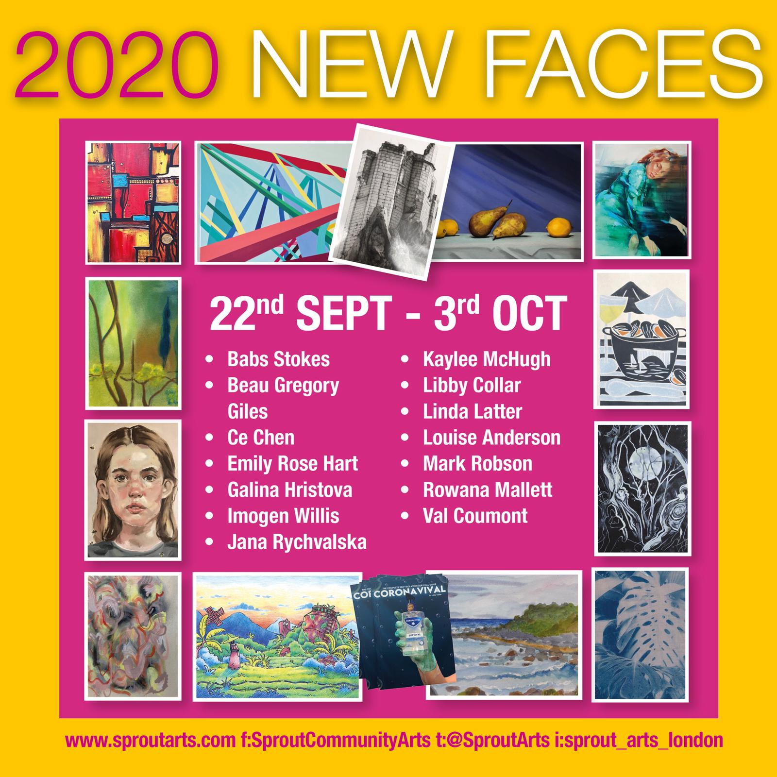 New Faces 2020 sq